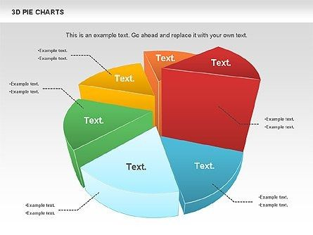 3d Pie Chart For Presentations In Powerpoint And Keynote Ppt Star