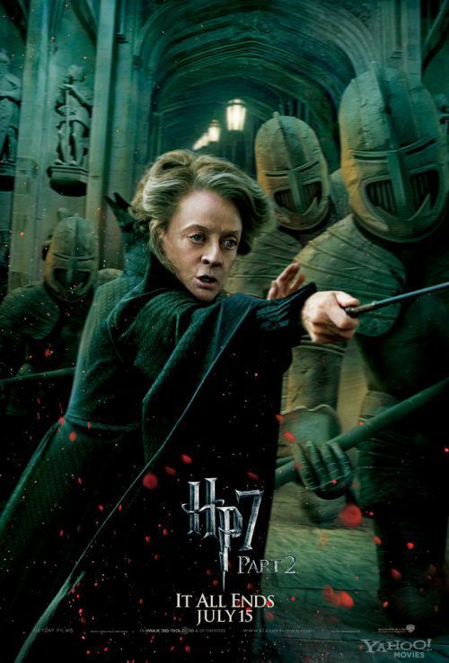 Harry Potter and the Deathly Hollows part 2 - Minerva McGonagall