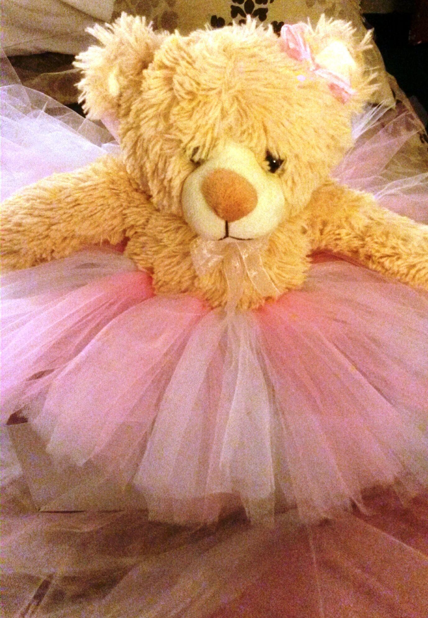 Teddy bears with custom tutus gifts new baby or gift for toddler teddy bears with custom tutus gifts new baby or gift for toddler negle Images
