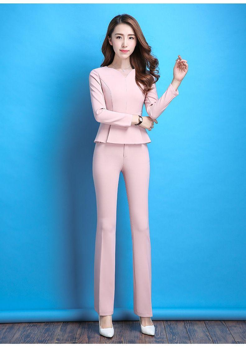 Women Pant Suits Female suit dress Notch Lapel Women\'s Business ...