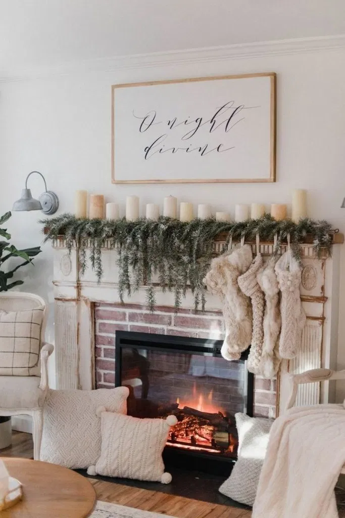 17+ christmas wall decorations that are creative and can be copied #wall #wallideas #walldecor – Home Decor #christmasdecor