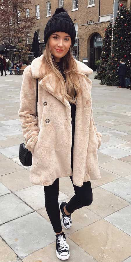 33+ Cute Coat Outfits for Every Day of the Month - Hi Giggle!