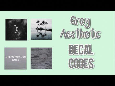 Best Roblox Bloxburg Grey Aesthetic Decal Id's Youtube 400 x 300