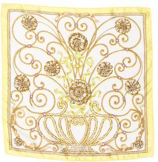 Hermès Silk Jouvence Pocket Square