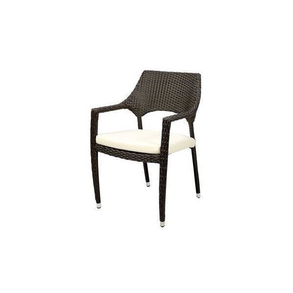 Source Outdoor Furniture Tuscanna Bistro Arm Chair ($195) ❤ liked on  Polyvore featuring home, outdoors, patio furniture, outdoor chairs, outdoor  bistro ... - Source Outdoor Furniture Tuscanna Bistro Arm Chair ($195) ❤ Liked