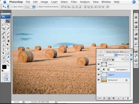 Learn Photoshop - How to Paint Across Time