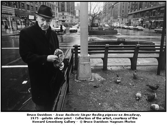 Isaac Bashevis Singer, the only Yiddish writer awarded the Nobel Prize in Literature (in 1978)