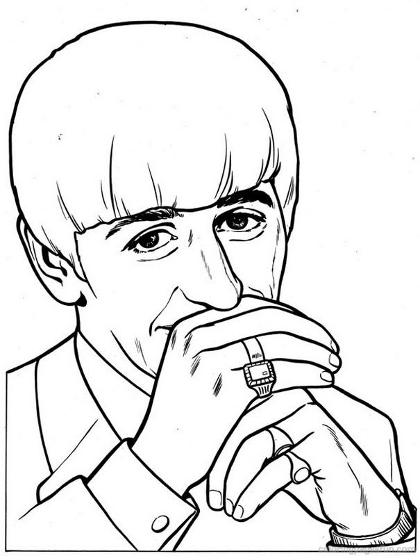 Beatles Coloring Pages 10 | The beatles, Coloring pages ...