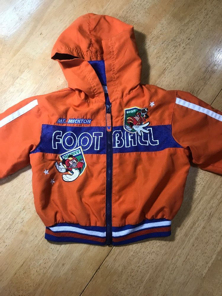 3fe914a7f745 Walt Disney Babies MICKEY MOUSE   GOOFY Football Lite Jacket 24 Months Coat   fashion  clothing  shoes  accessories  babytoddlerclothing ...