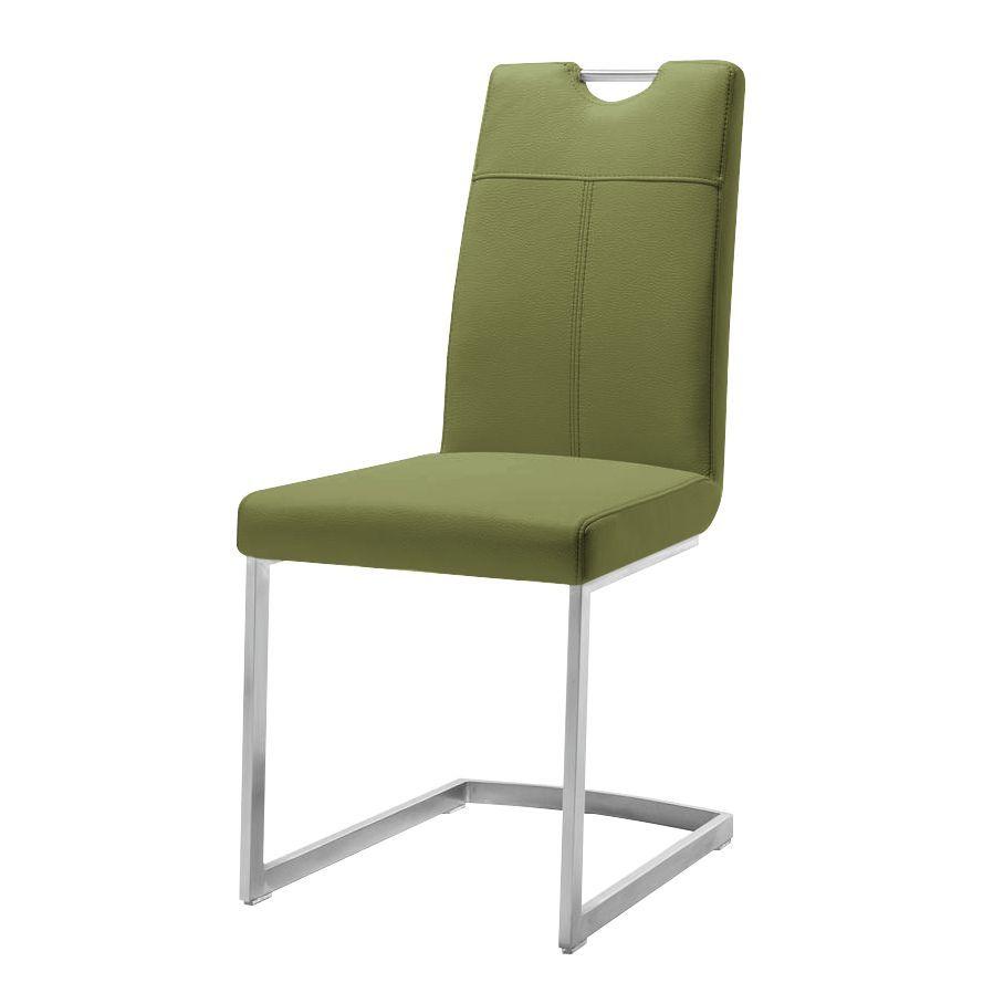 Freischwinger Leon - Kunstleder - Olivgrün, Habufa Jetzt bestellen ...