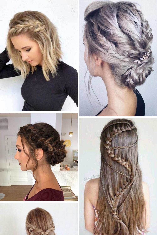 Top 20 Wedding Braids Hairstyles Pictures Designs Ideas Leicht Geflochtene Frisuren Haar Styling Hochzeitsfrisuren Geflochten