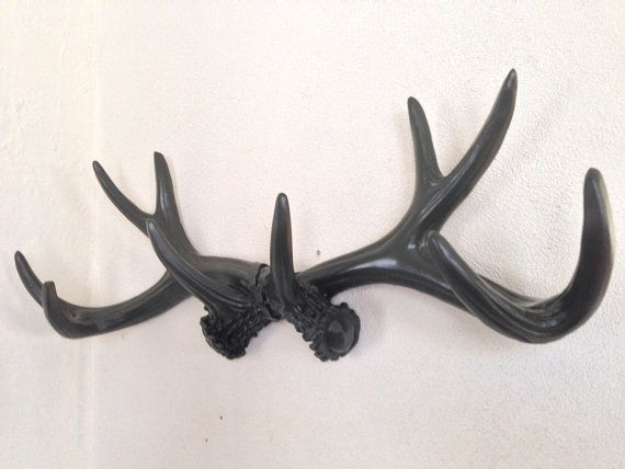 Man Cave Jewellery : Faux antlers camo deer jewelry holder man cave by