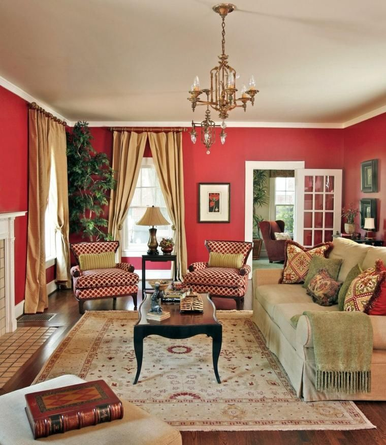 Haus Dekor 65 Ideen von Akzenten und Details in rot mit