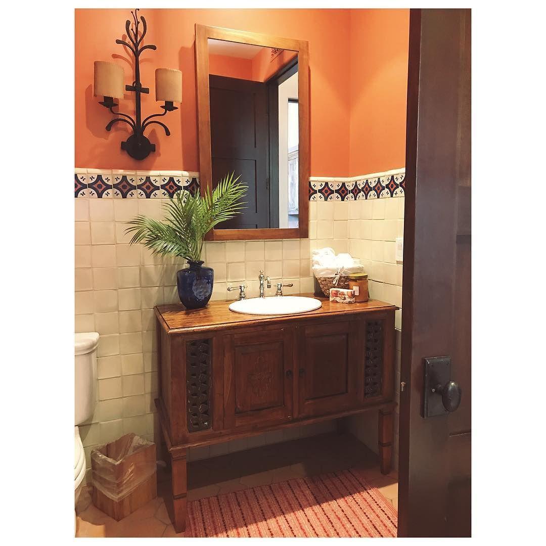 bathroom in spanish.  Bathroom Bathroom With A Little Spanish Flair To In I