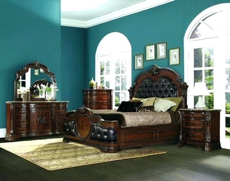 cherry wood furniture bedroom decor ideas dark design ...