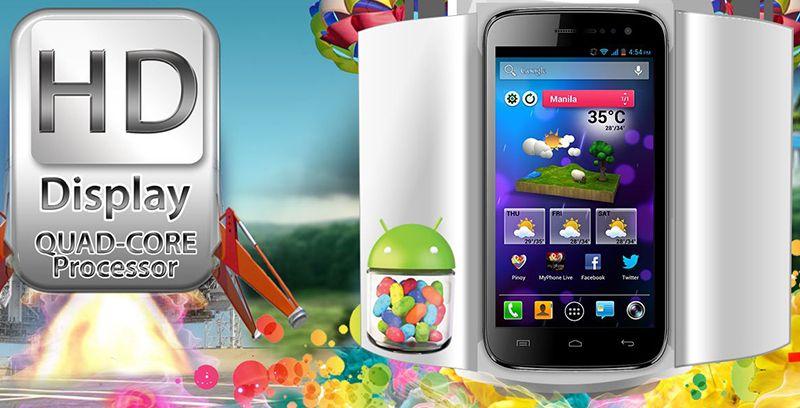 """MyPhone A919i Duo 5"""" 720p Display, QuadCore CPU, 8MP"""