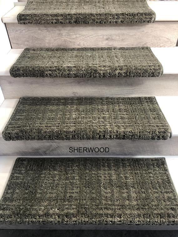 Best Padded Carpet Stair Treads Crossroads Sherwood 400 x 300