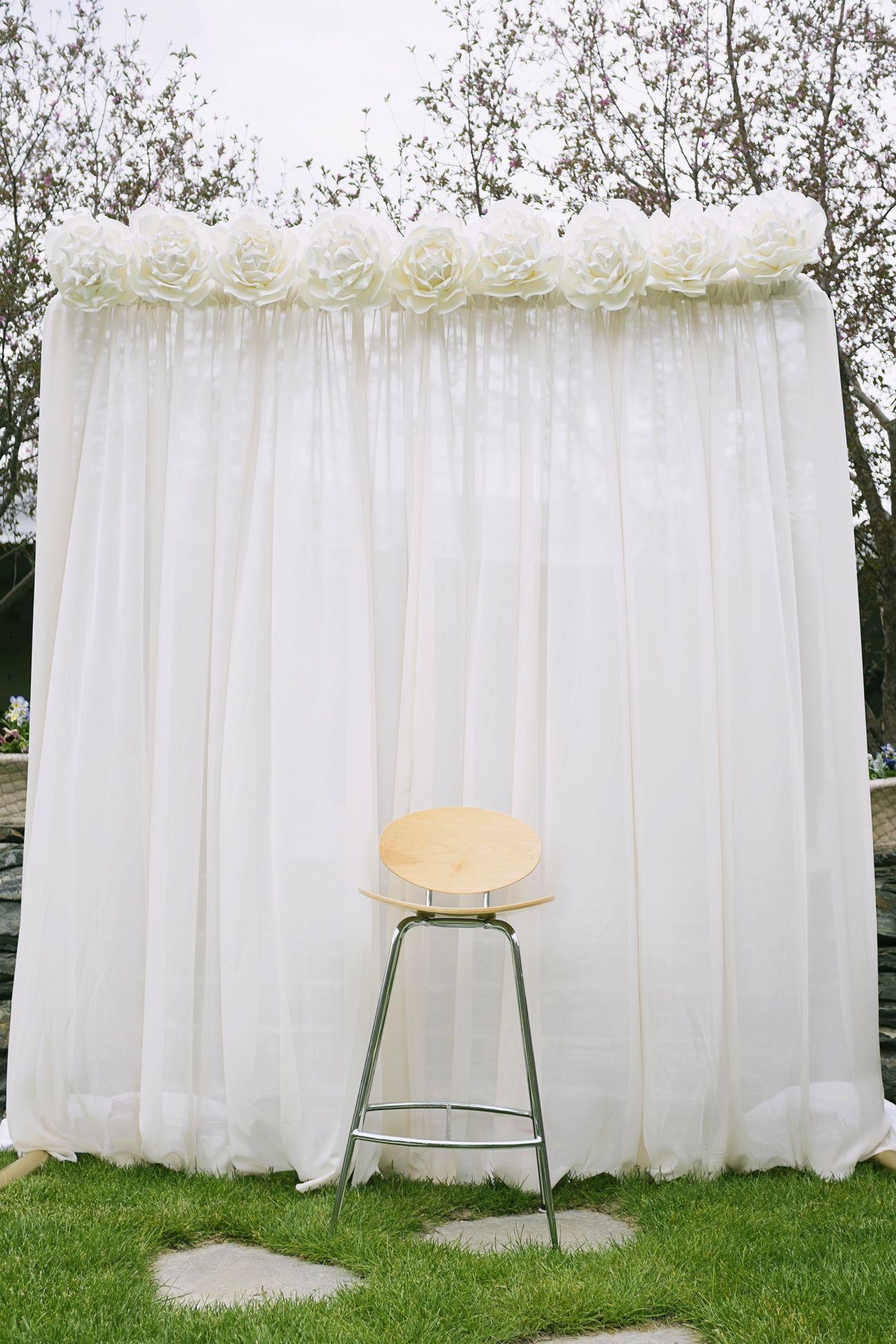 Simple beautiful wedding background ADD diy ♥customweddingprintables com Weddings