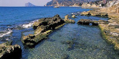 Banos De La Reina The Queehing Pool Found Along Coastal Walk