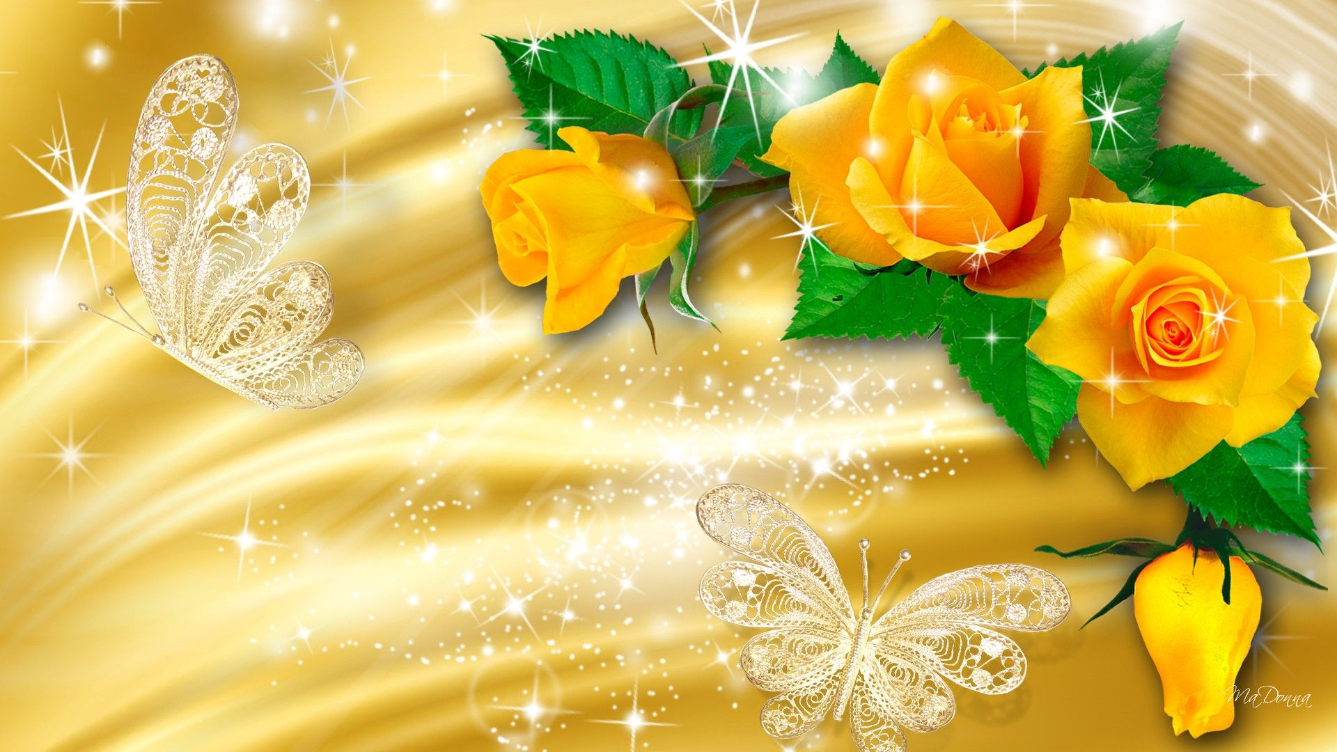 Yellow Flowers Wallpapers HD Pictures One HD Wallpaper Pictures