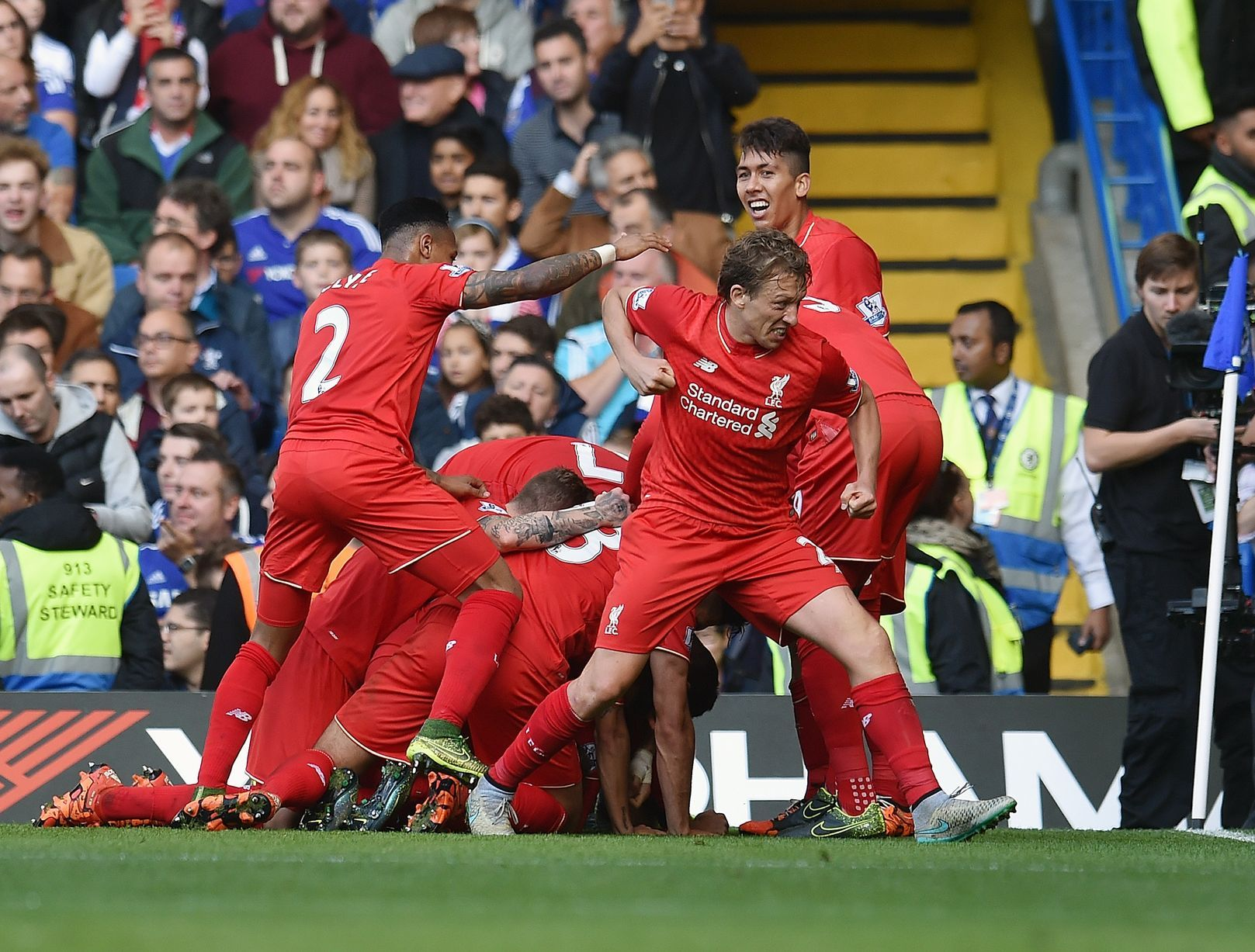 Chelsea 13 Liverpool Reds fans, pundits and explayers