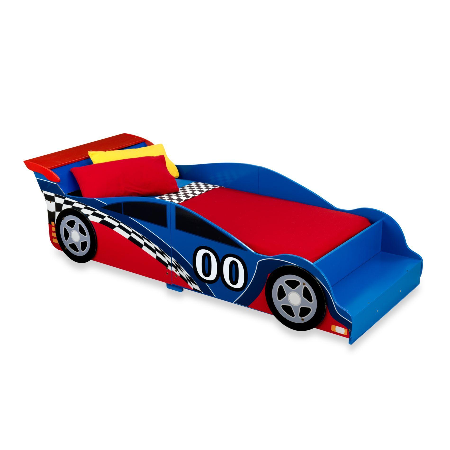 KidKraft® Racecar Toddler Bed Kid beds