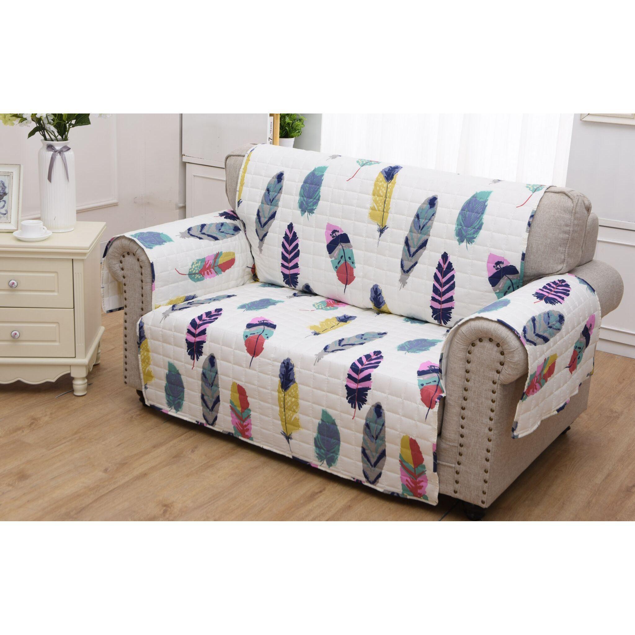 Astounding Dream Catcher Teal Furniture Protector Loveseat Short Links Chair Design For Home Short Linksinfo