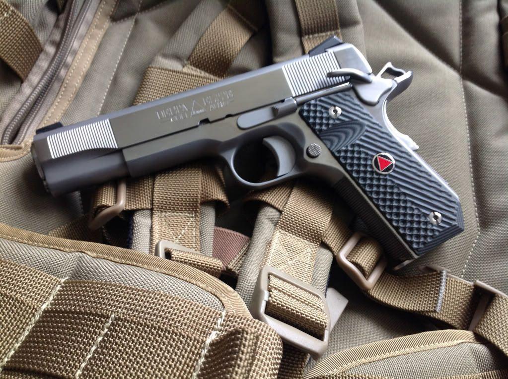 Custom Colt Delta Elite 10mm Pistol | RIFLES | Hand guns, Guns, 1911