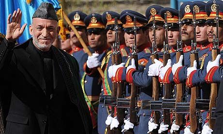 government this is the president of afghanistan hamid karzai he is the 12th