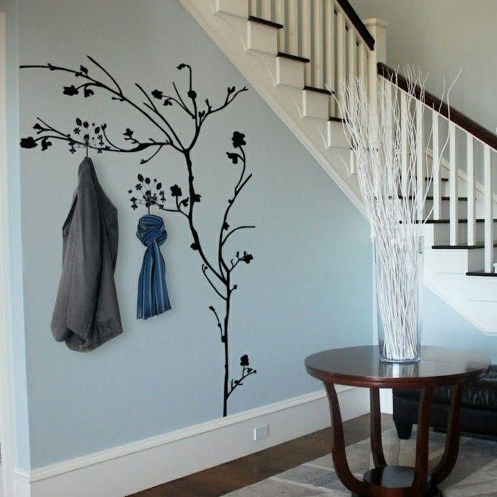 Wandtattoo für Flur - eine schöne Dekoration - Archzinenet - Wandtattoos Fürs Badezimmer