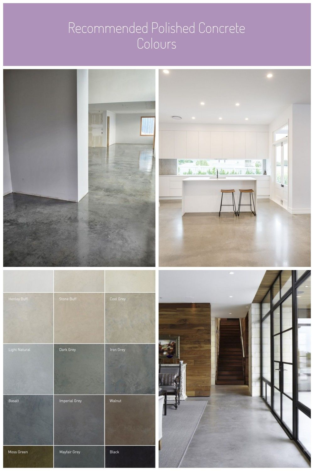 Many Concrete Contractors Recommend Applying A Mop Down Wax Or Floor Finish To Your Decorative Concrete Flo Decorative Concrete Floors Flooring Concrete Floors