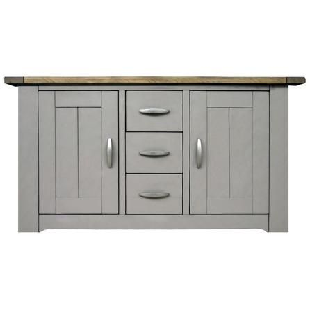Loxley Grey Large Sideboard Dunelm Large sideboard