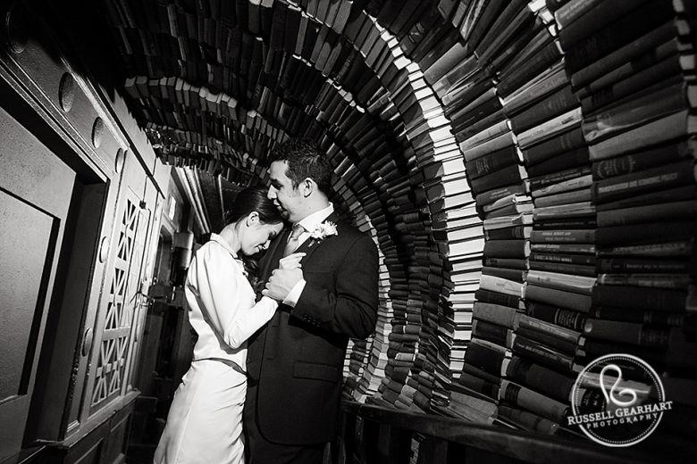 The Last Bookstore Wedding Jane Alfonso Wedding Locations California Southern California Wedding Venues The Last Bookstore