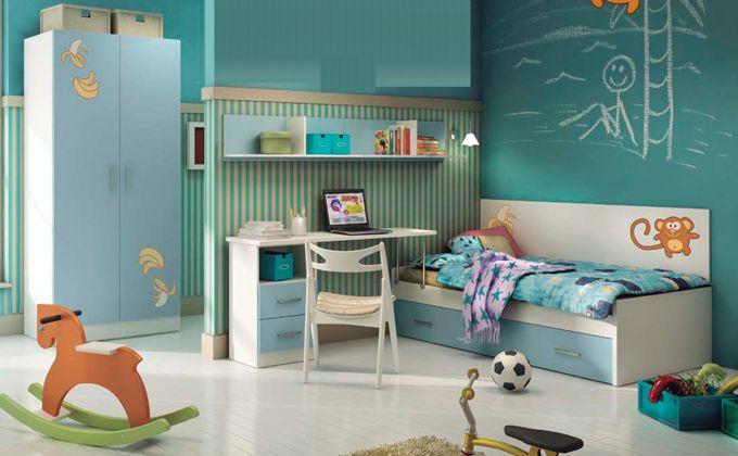 Muebles juveniles para habitaci n dise o cama y for Muebles habitacion ninos