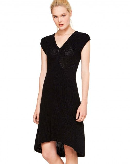 e5f4c567108 Υφασμάτινο φόρεμα Μαύρο - ΓΥΝΑΙΚΕΙΑ | Benetton | ρούχα κλπ ...