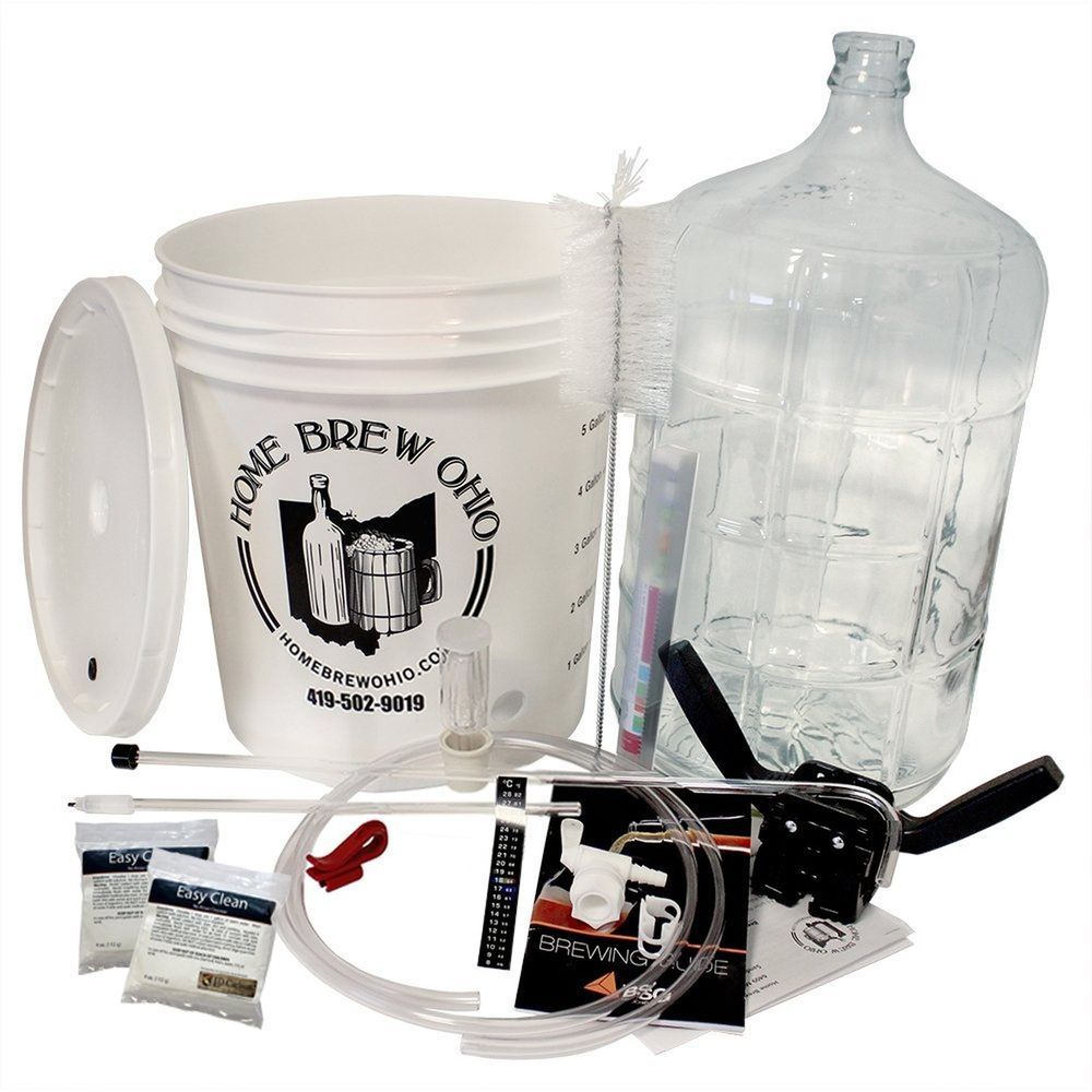 Home brew ohio complete beer equipment kit k6 with 6 gal