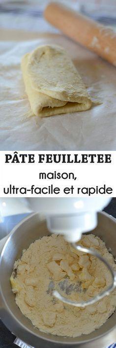 Pate Feuilletee Maison Rapide Et Facile Recette Yummy Desserts