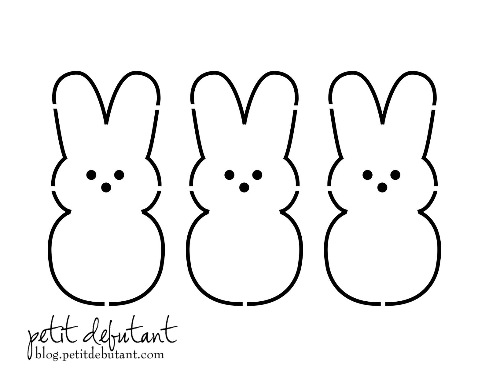 Sometimes I Don T Know What Comes Over Me When I Decide That I Must Do Something At An Insanely Late Hour Easter Bunny Template Easter Templates Easter Crafts