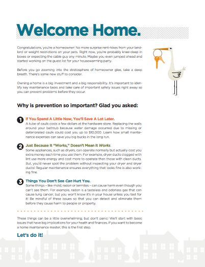 Welcome Home! The BrightNest New Homeowner Guide - Free Printable - resume 7 eleven