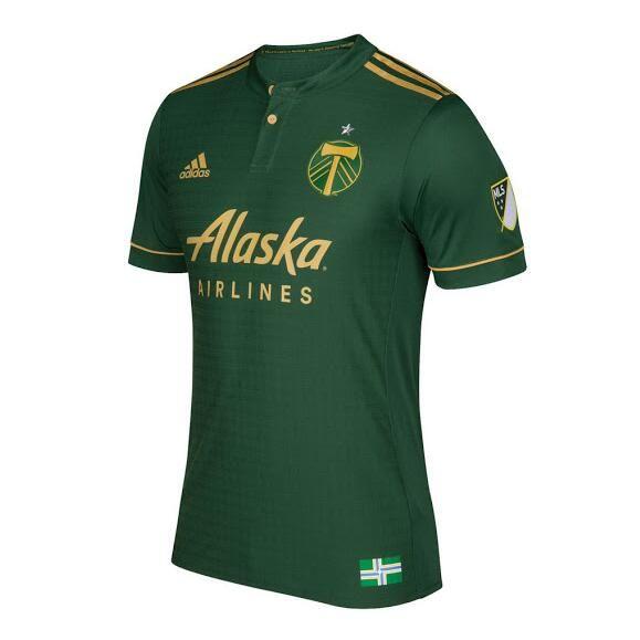 Nueva Camiseta Primera Tailandia del Portland Timbers 2017 2018 | outlet  españa