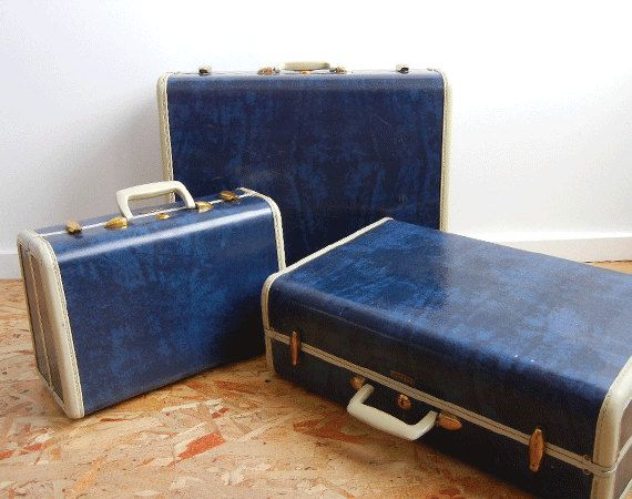 Samsonite Streamlite Luggage Shwayder Bros (1946) | Samsonite Love ...