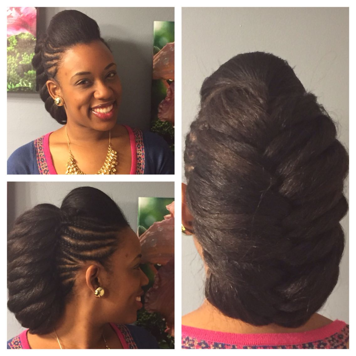 Coiffure Mariage Rockabilly Rock This Protective Style For A Mix Of Class And Fun