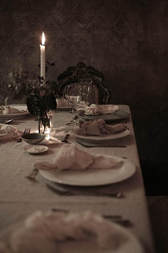 Thanksgiving Dinner at Le Marché St. George - Remodelista #thanksgivingdinnertable