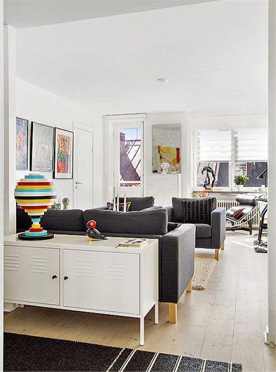 Ikea ps cabinet karlstad sofa and chairs ikea inspiration pinterest ik - Ikea armoire metallique ...