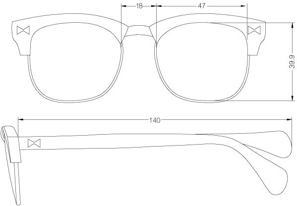 8c919615c789 glasses technical drawings - Google Search