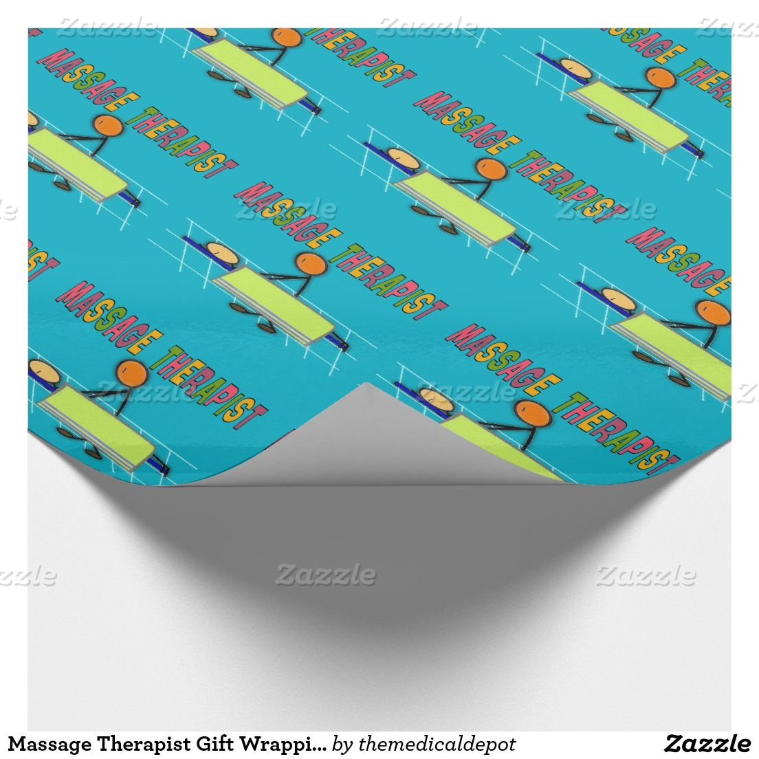 Massage Therapist Gift Wrapping Paper