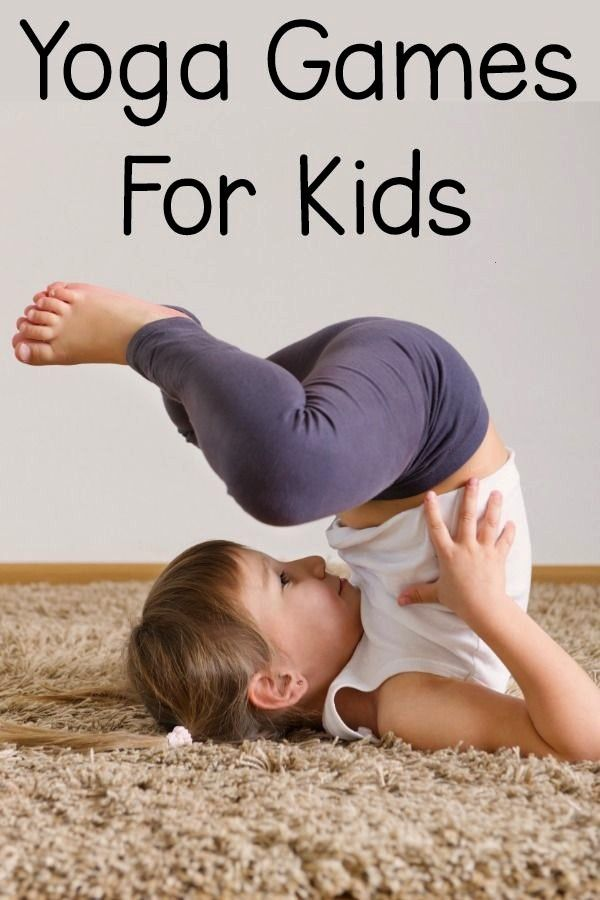 Games For Kids - Fun ideas for yoga games and yoga poses for kids! These kids yoga games are perfec