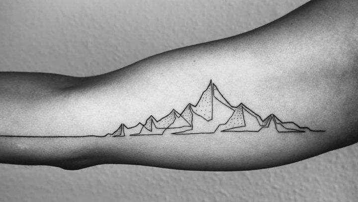 Tattoo Inspiratie Minimalistische One Line Tattoos