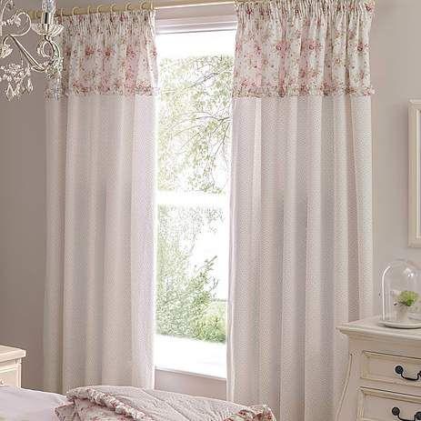 Dorma Woodland Pink Curtains | Dunelm