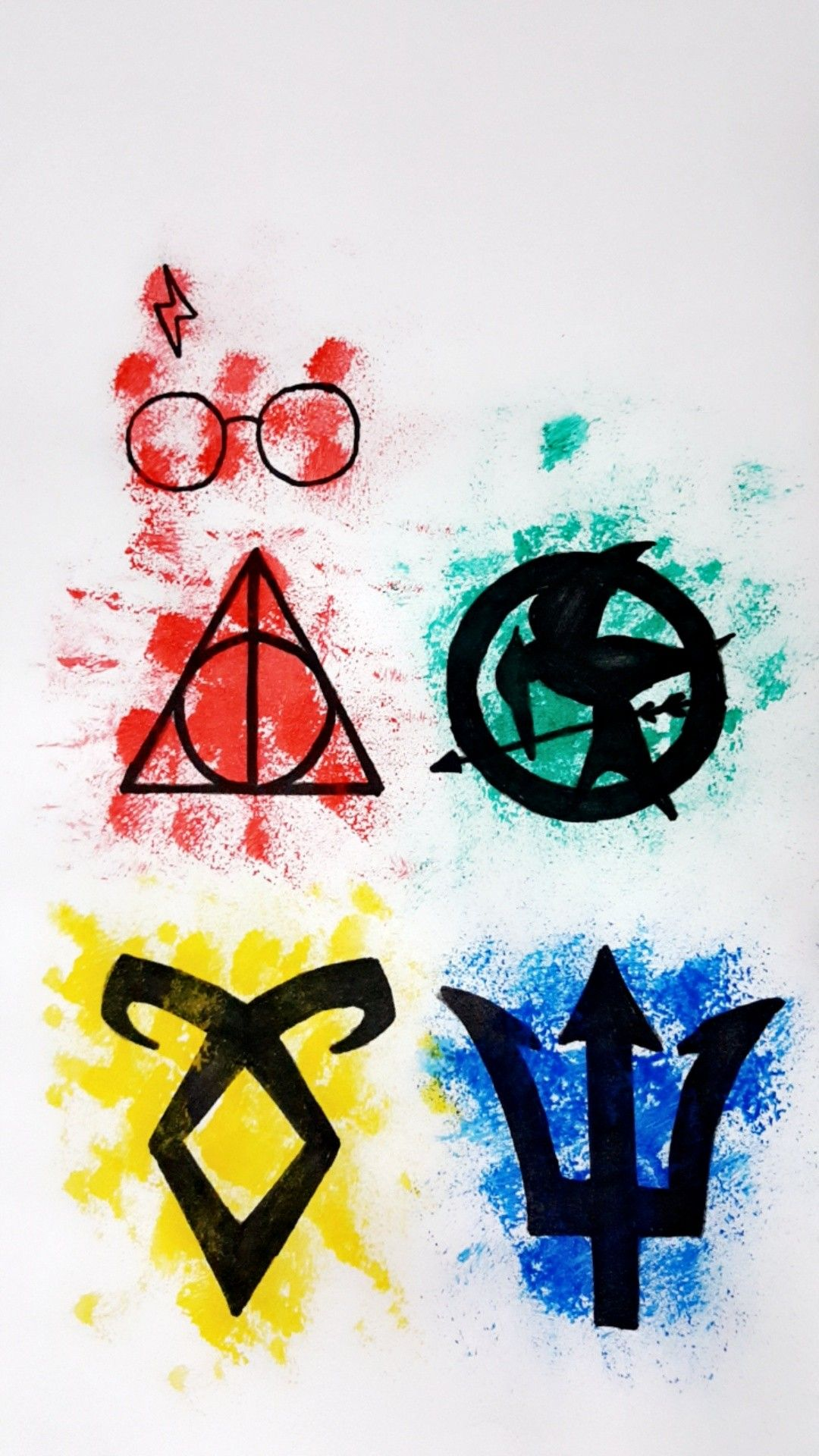 Harry Potter The Hunger Games The Mortal Instruments